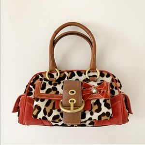 Authentic Coach limited edition Soho Ocelot bag